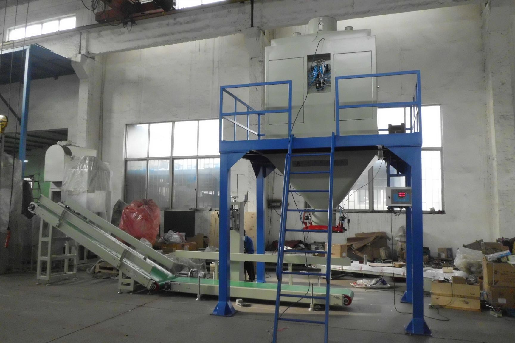 Coffee Bean / Soybean Meal Pellet Bagging Equipment Packing Scale
